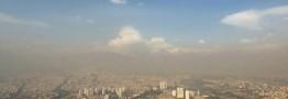 کیفیت هوای تهران در آستانه شرایط ناسالم قرار دارد