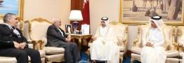 Iran\'s FM meets Qatari PM