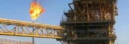 برداشت گاز از سکوهای دریایی فاز 22 تا 24 پارس جنوبی آغاز شد