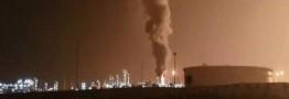 مهار آتش سوزی فازهای ٢٠ و ٢١ پارس جنوبی